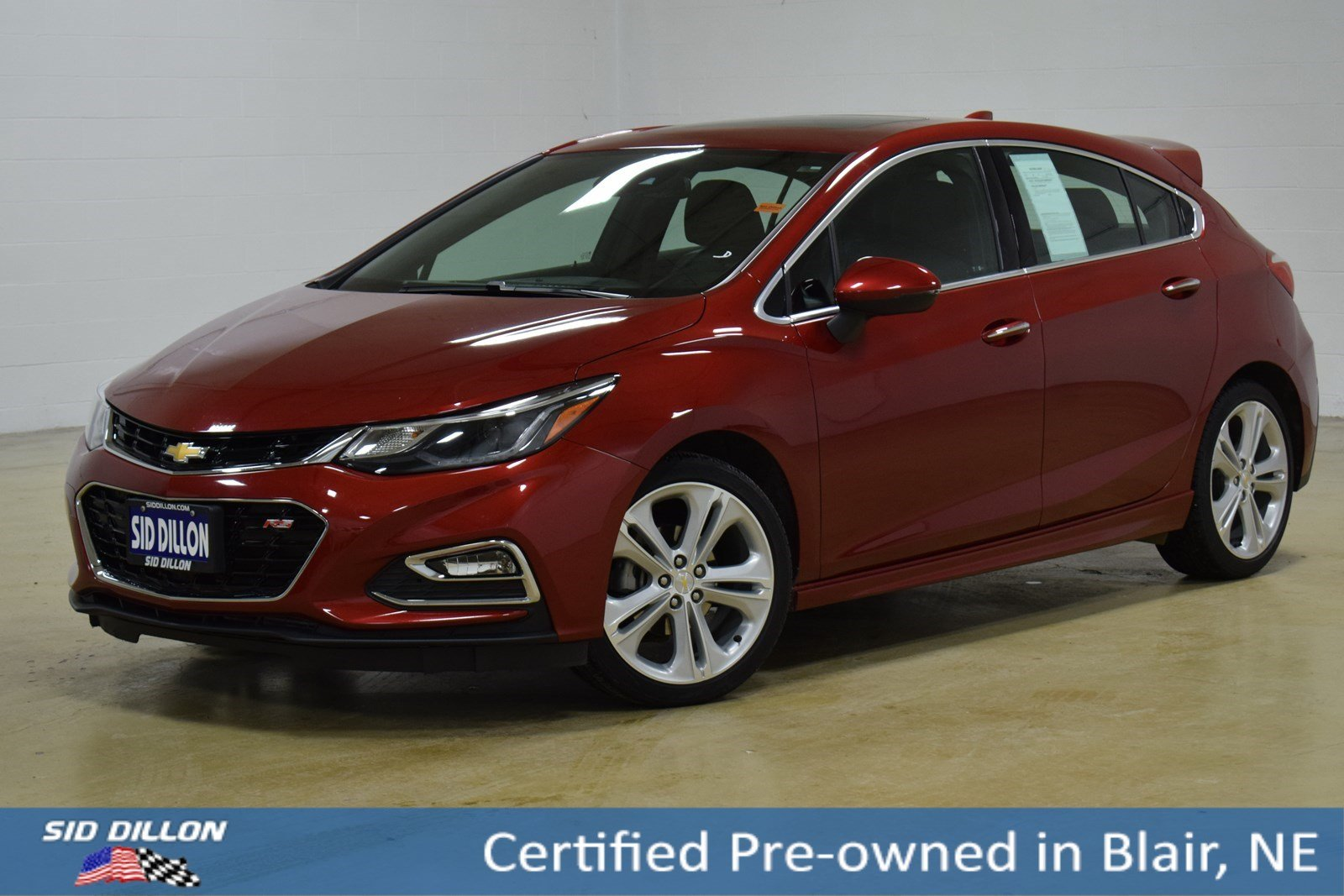 Certified Pre Owned 2017 Chevrolet Cruze Premier
