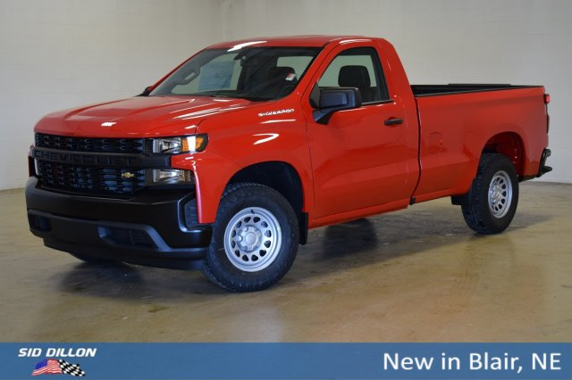 New 2019 Chevrolet Silverado 1500 Work Truck Rwd Regular Cab