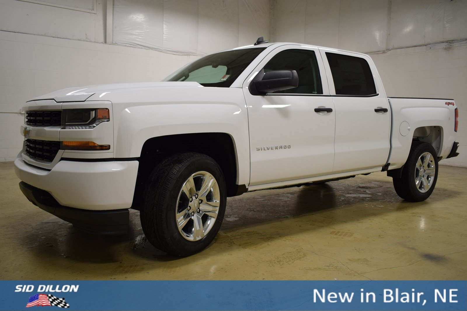 New 2018 Chevrolet Silverado 1500 Custom Crew Cab In Blair
