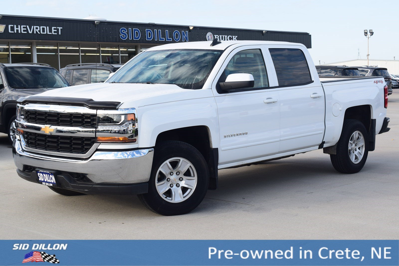 Pre Owned 2017 Chevrolet Silverado 1500 Lt Crew Cab In Crete