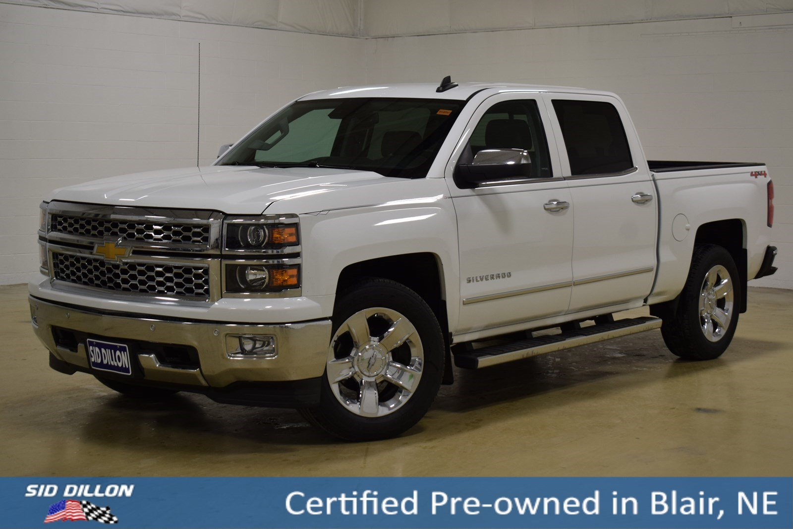 Certified Pre-Owned 2015 Chevrolet Silverado 1500 LTZ
