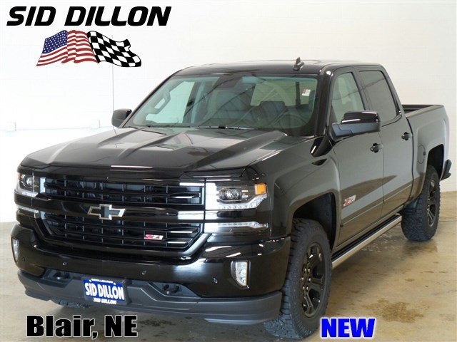 new 2017 chevrolet silverado 1500 ltz crew cab in blair 317096 sid dillon auto group. Black Bedroom Furniture Sets. Home Design Ideas
