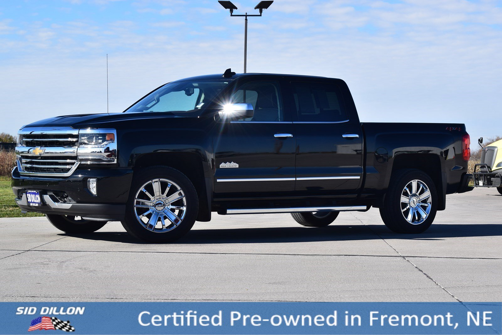 Certified Pre Owned 2018 Chevrolet Silverado 1500 High Country