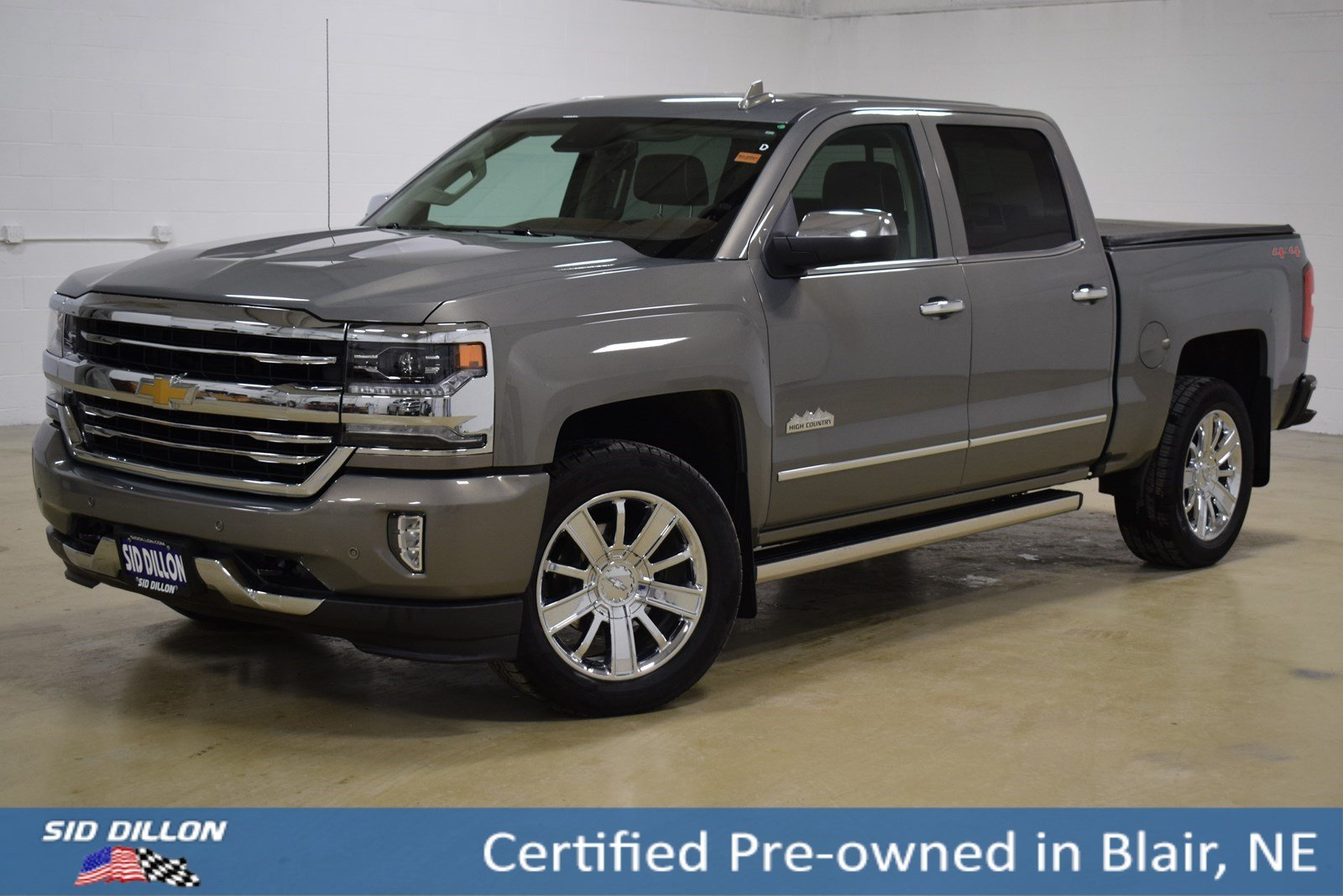 Certified Pre-Owned 2017 Chevrolet Silverado 1500 High Country