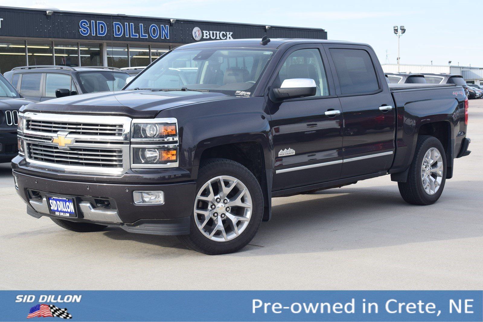 Elegant Pre Owned 2014 Chevrolet Silverado 1500 High Country
