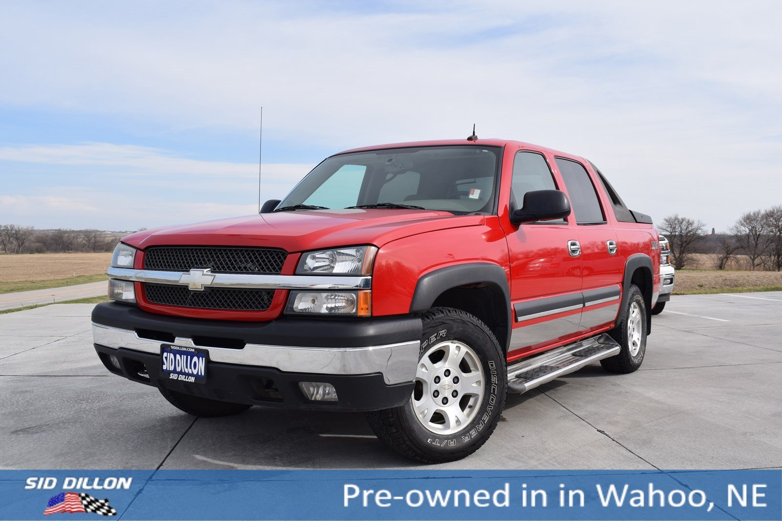 Pre owned 2004 chevrolet avalanche z71 crew cab in wahoo 5h657b pre owned 2004 chevrolet avalanche z71 sciox Choice Image