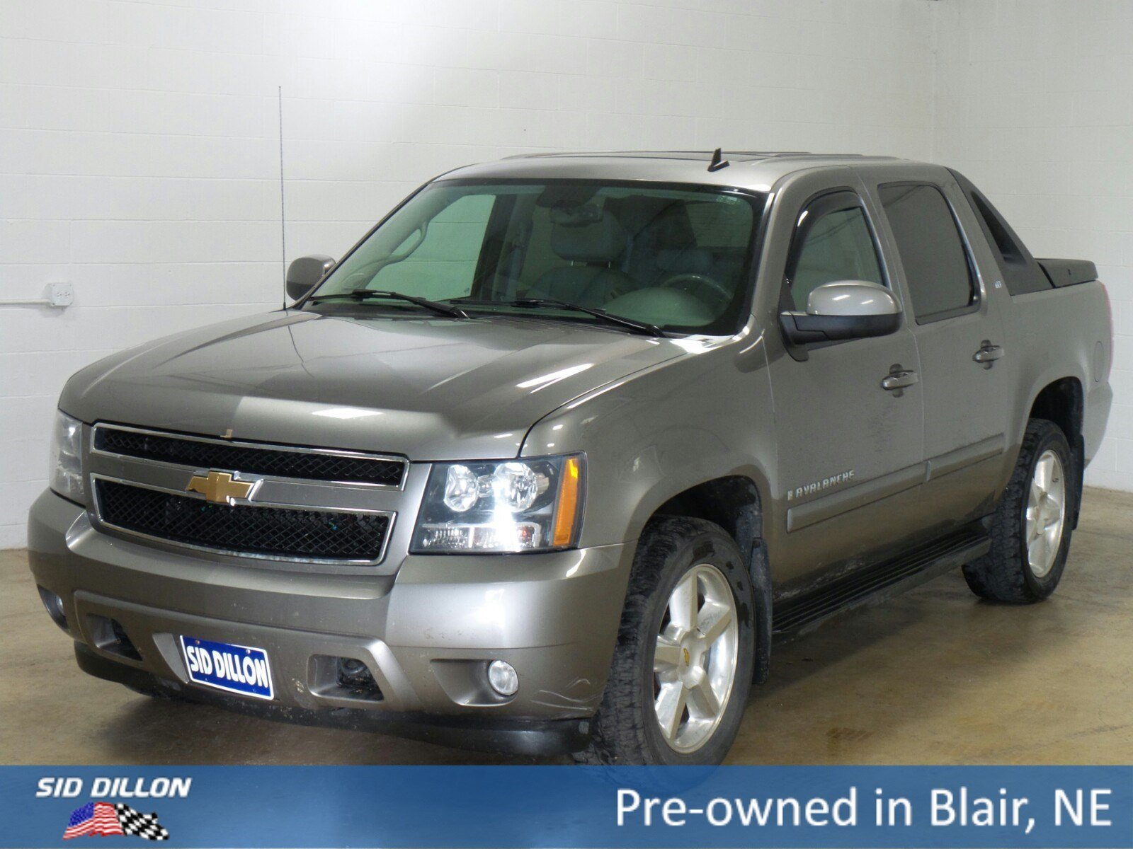 pre owned 2007 chevrolet avalanche lt w 1lt crew cab in. Black Bedroom Furniture Sets. Home Design Ideas