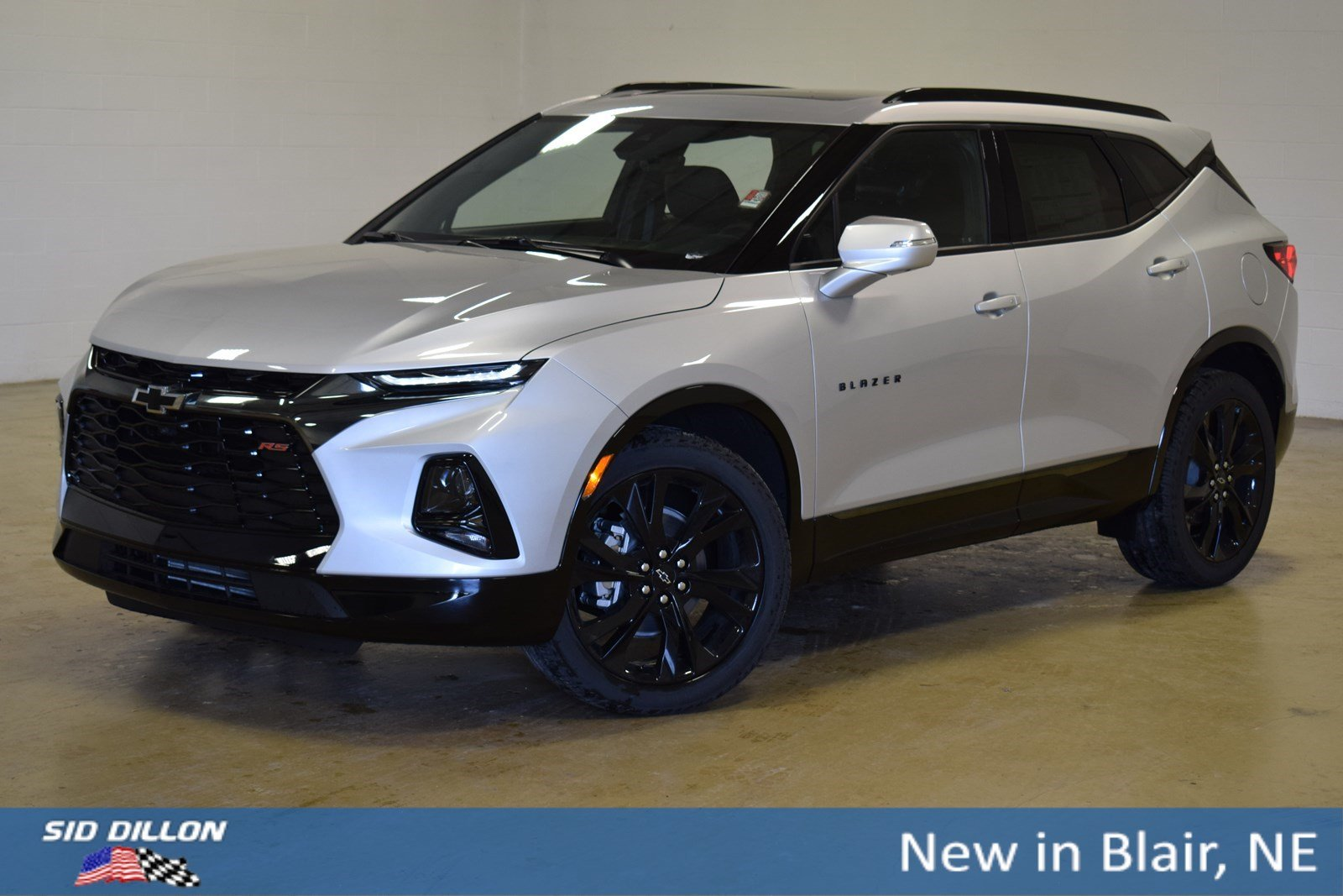 New 2019 Chevrolet Blazer RS SUV In Blair #3191642