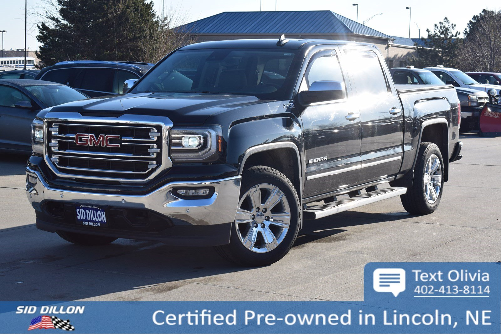 Certified Pre Owned 2017 Gmc Sierra 1500 Slt