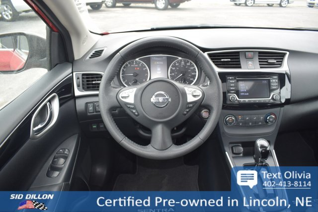 Certified Pre-Owned 2017 Nissan Sentra SV FWD 4 Door Sedan