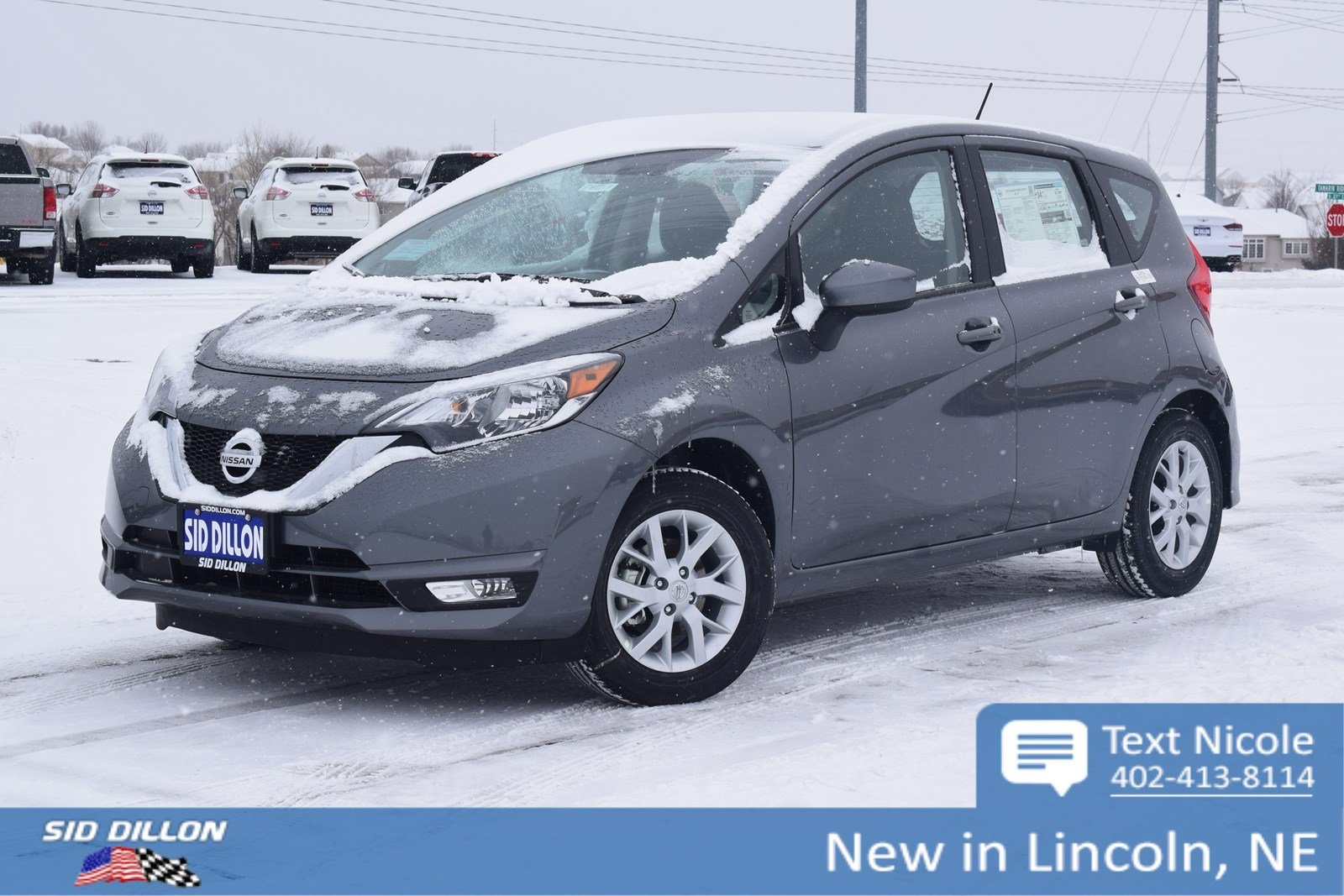 New 2018 Nissan Versa Note Sv Hatchback In Lincoln 4n1868