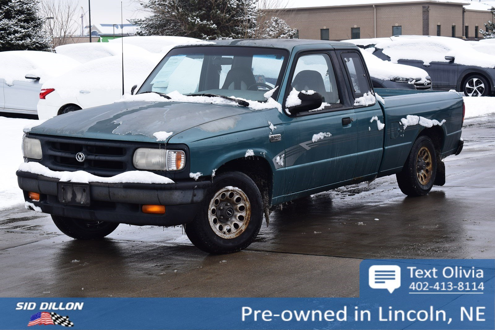 Pre-Owned 1994 Mazda B-Series 2WD Truck SE
