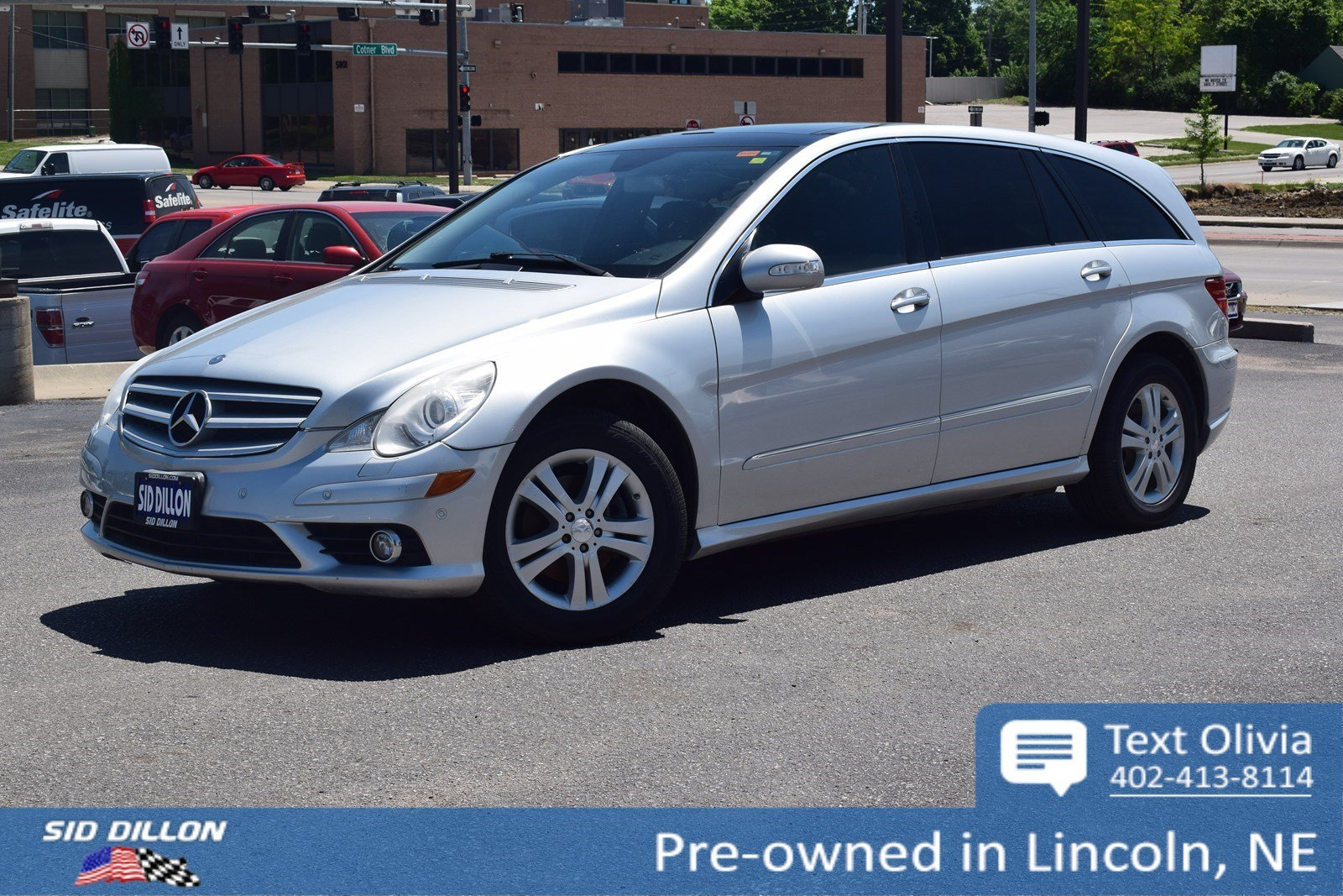 Pre-Owned 2008 Mercedes-Benz R-Class 3.5L
