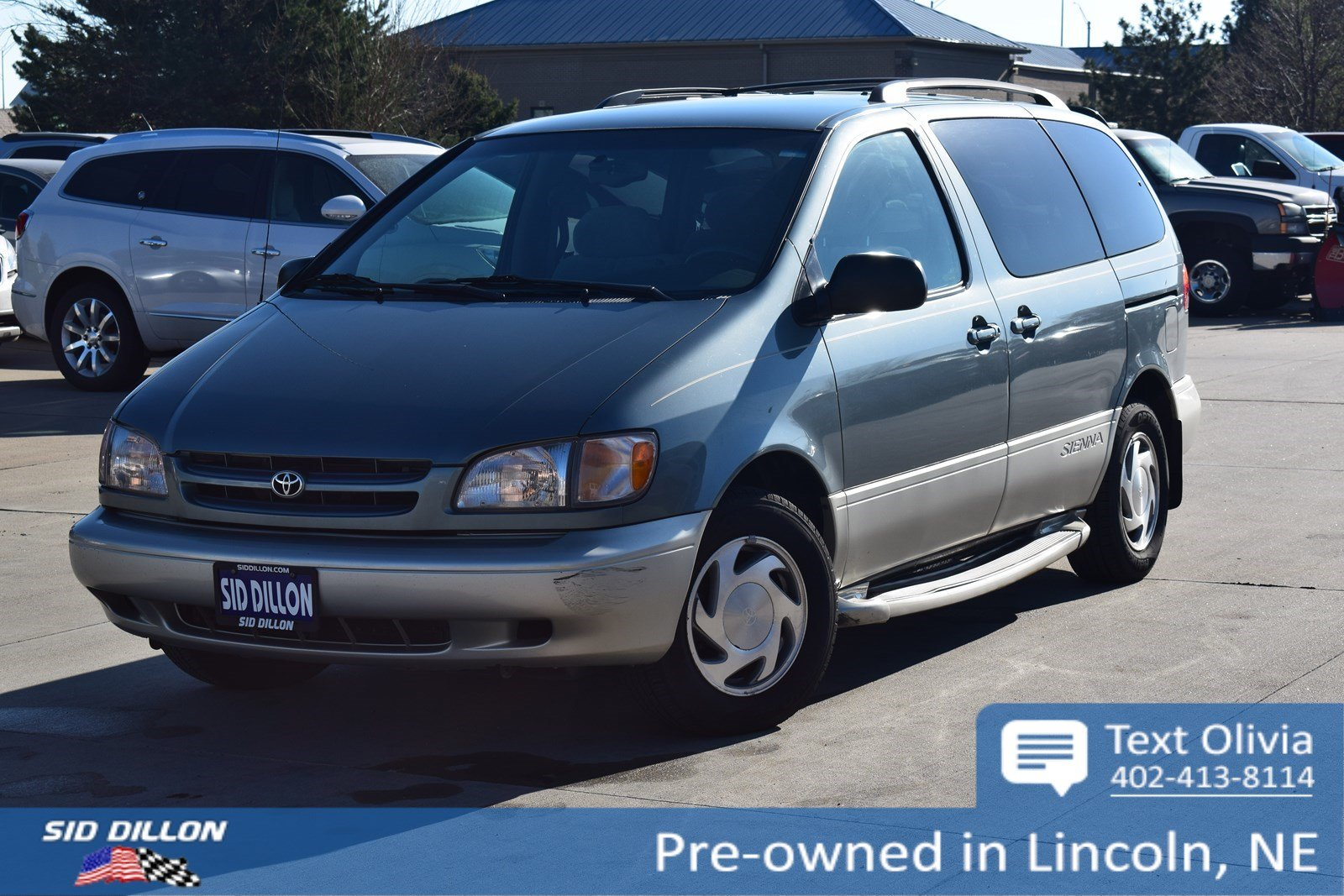 25bfc2642ffb05 Pre-Owned 2000 Toyota Sienna LE Minivan in Lincoln  4H18659B