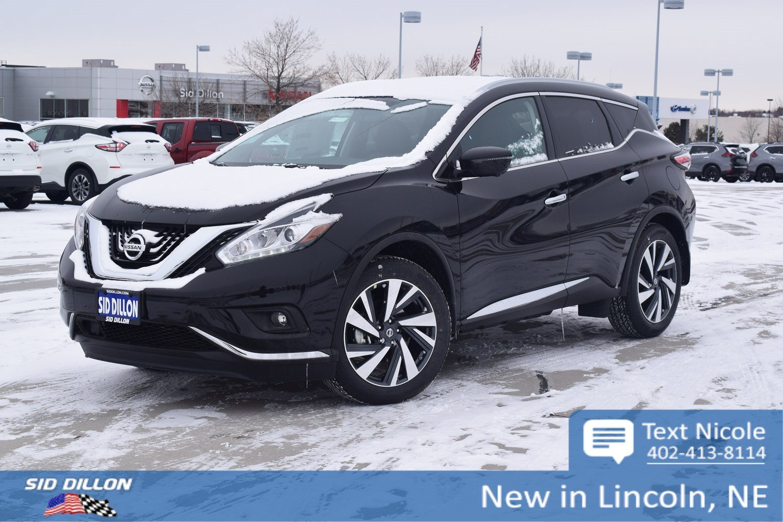 New 2018 Nissan Murano Platinum Suv In Lincoln 4n18173