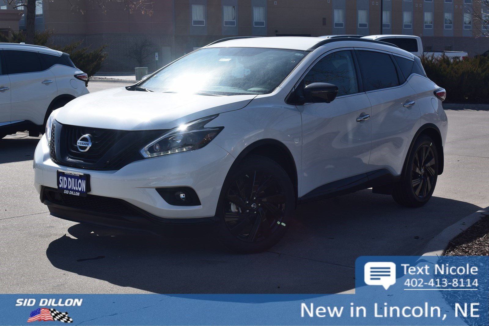 New 2018 Nissan Murano SL SUV in Lincoln #4N18294 | Sid Dillon Auto ...