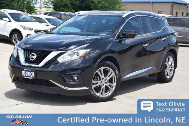 Certified Pre-Owned 2015 Nissan Murano Platinum