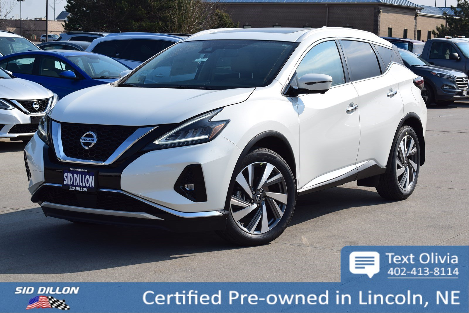Certified Pre-Owned 2019 Nissan Murano SL