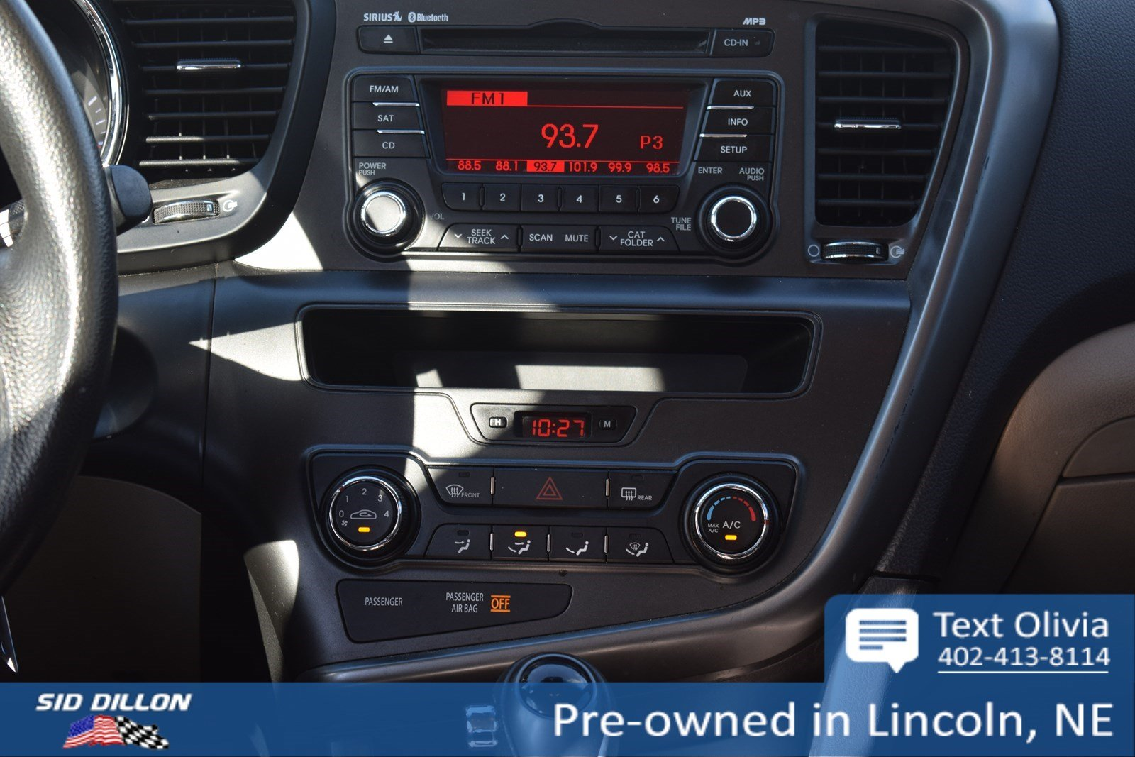 Pre Owned 2012 Kia Optima Lx 4 Door Sedan In Lincoln 4n18935a Sid 2009 Navigation System Components And Wiring Harness