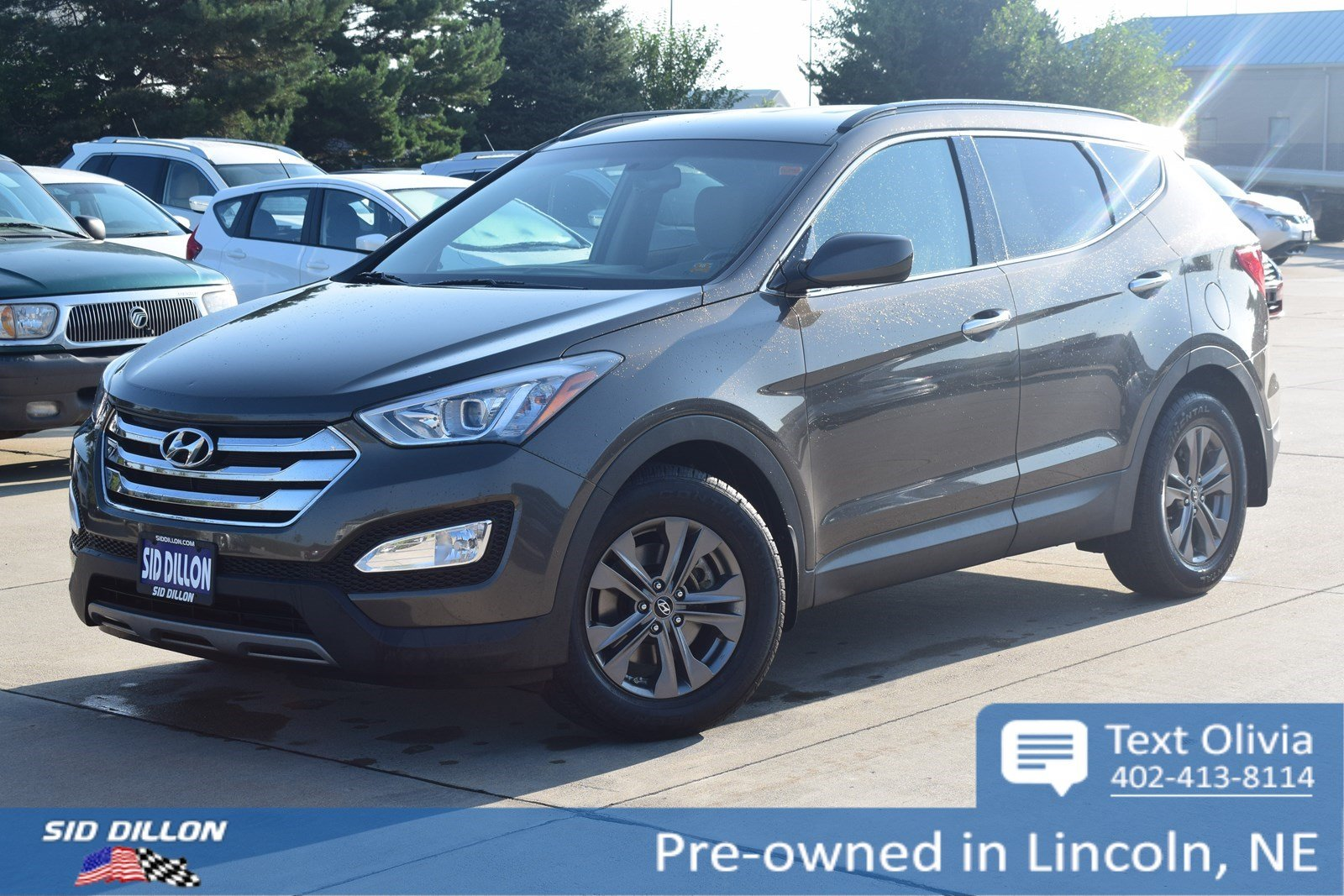 Pre Owned 2013 Hyundai Santa Fe Sport Suv In Lincoln 4h18652a Sid Hyundai  Accent Fog Lights As Well As Hyundai Santa Fe Trailer Wiring