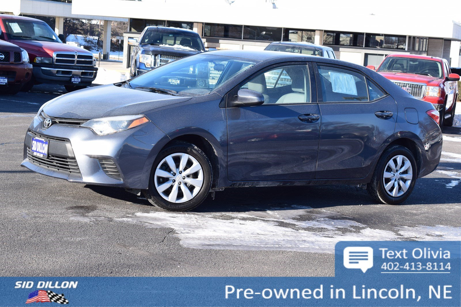 Pre-Owned 2014 Toyota Corolla LE 4 Door Sedan in Lincoln #4N71053A ...
