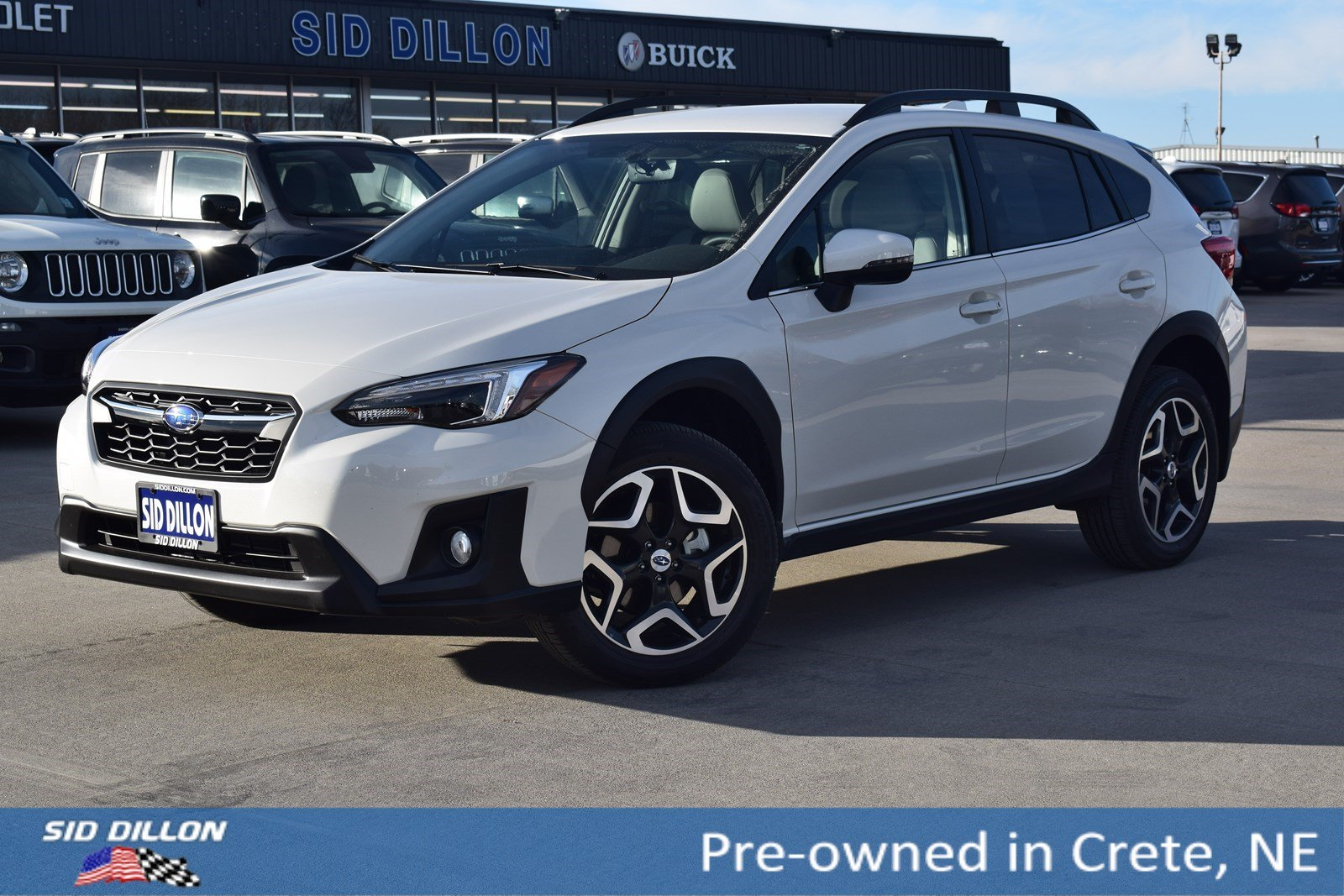 Pre Owned 2018 Subaru Crosstrek Limited