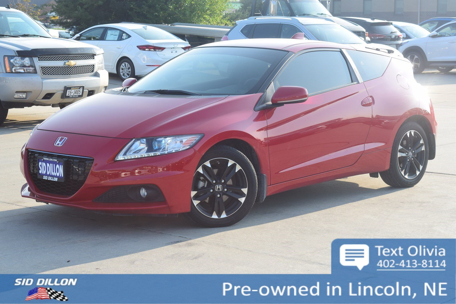 Awesome Pre Owned 2015 Honda CR Z EX