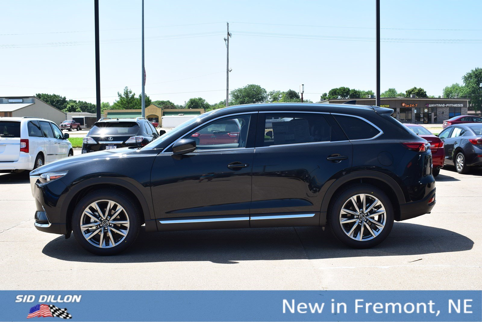 Mazda Cx 9 >> New 2019 Mazda Cx 9 Grand Touring With Navigation Awd