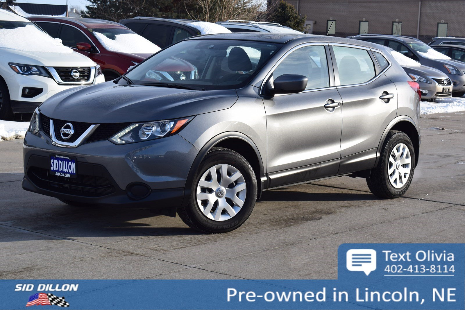 pre-owned 2018 nissan rogue sport s suv in lincoln #4n18299a | sid