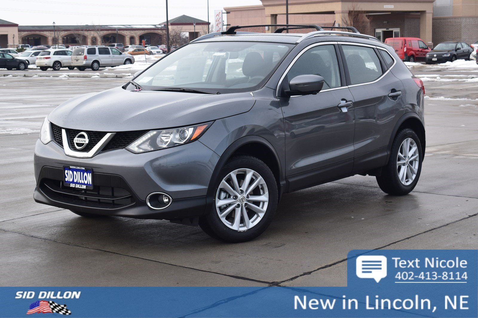 New 2018 Nissan Rogue Sport Sv Suv In Lincoln 4n18247