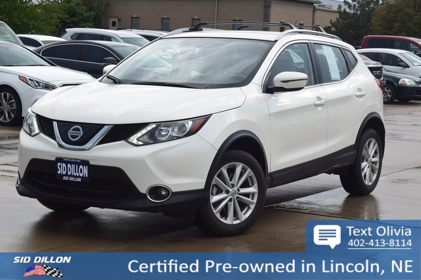 Lincoln Suv 2018 >> Certified Pre Owned 2018 Nissan Rogue Sport Sv Awd Suv