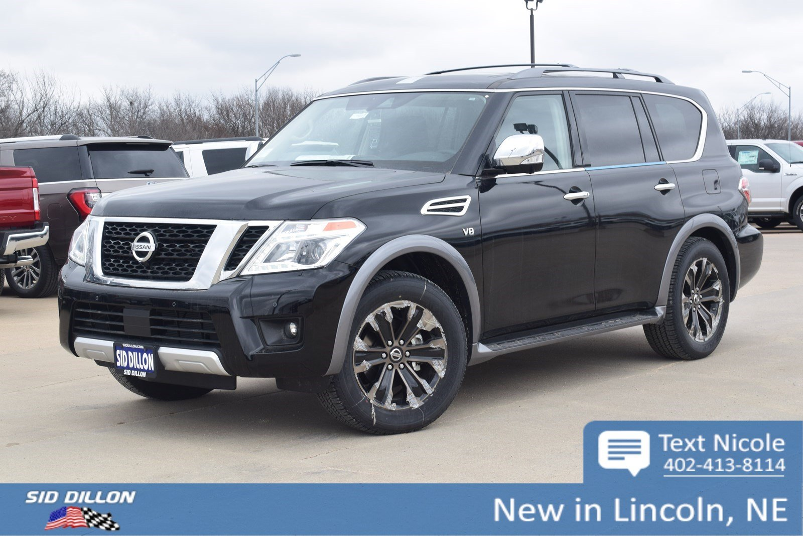 New 2018 Nissan Armada Platinum Suv In Lincoln 4n18283
