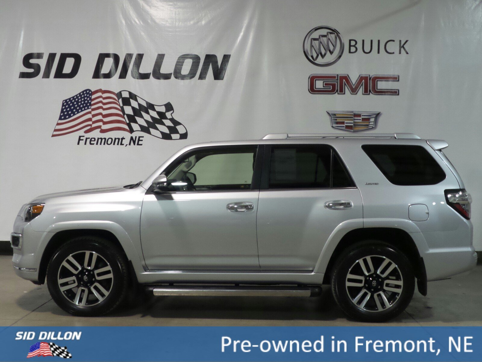 pre owned 2015 toyota 4runner limited suv in fremont 2u14330 sid dillon auto group. Black Bedroom Furniture Sets. Home Design Ideas