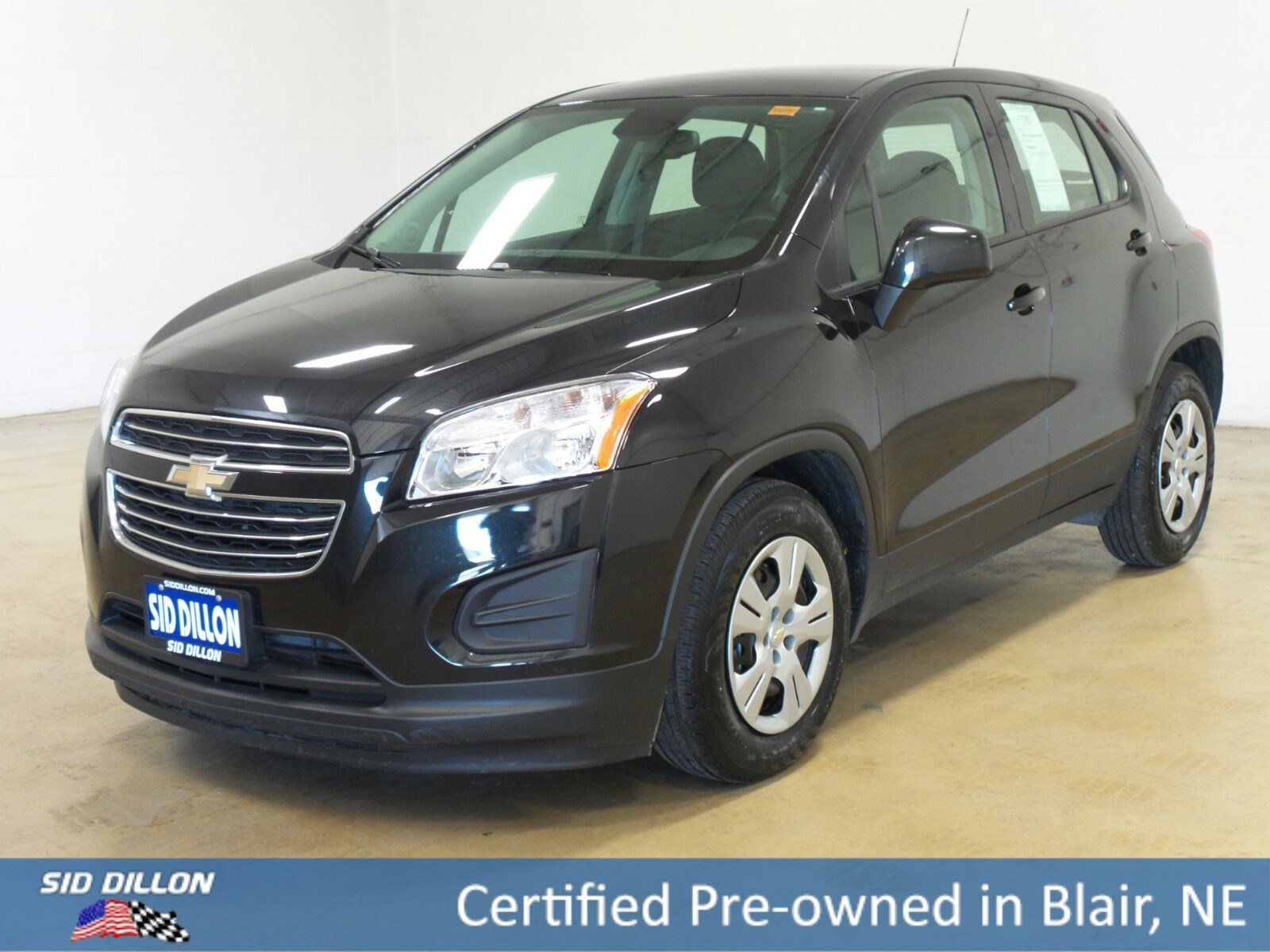 certified pre owned 2016 chevrolet trax ls suv in blair 37395a sid dillon auto group. Black Bedroom Furniture Sets. Home Design Ideas