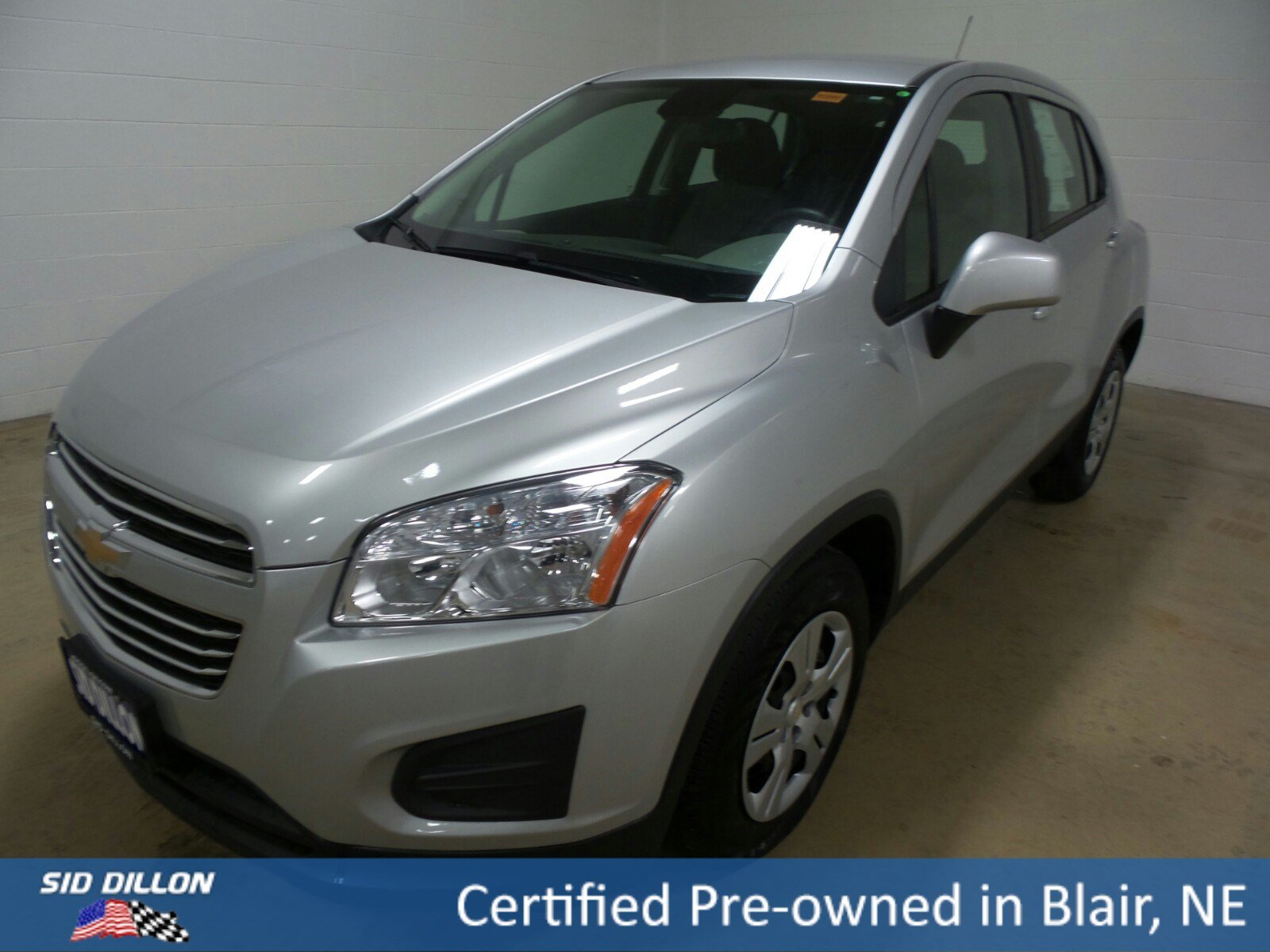 Certified Pre-Owned 2015 Chevrolet Trax LS