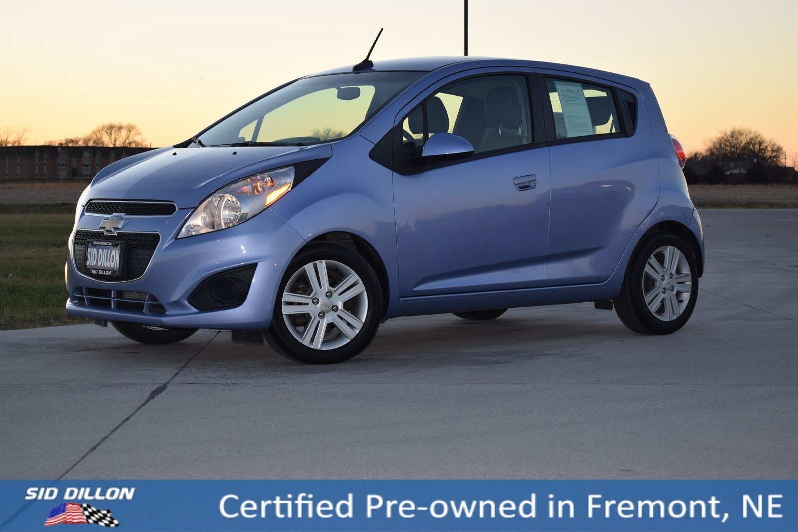 Certified Pre-Owned 2014 Chevrolet Spark LT