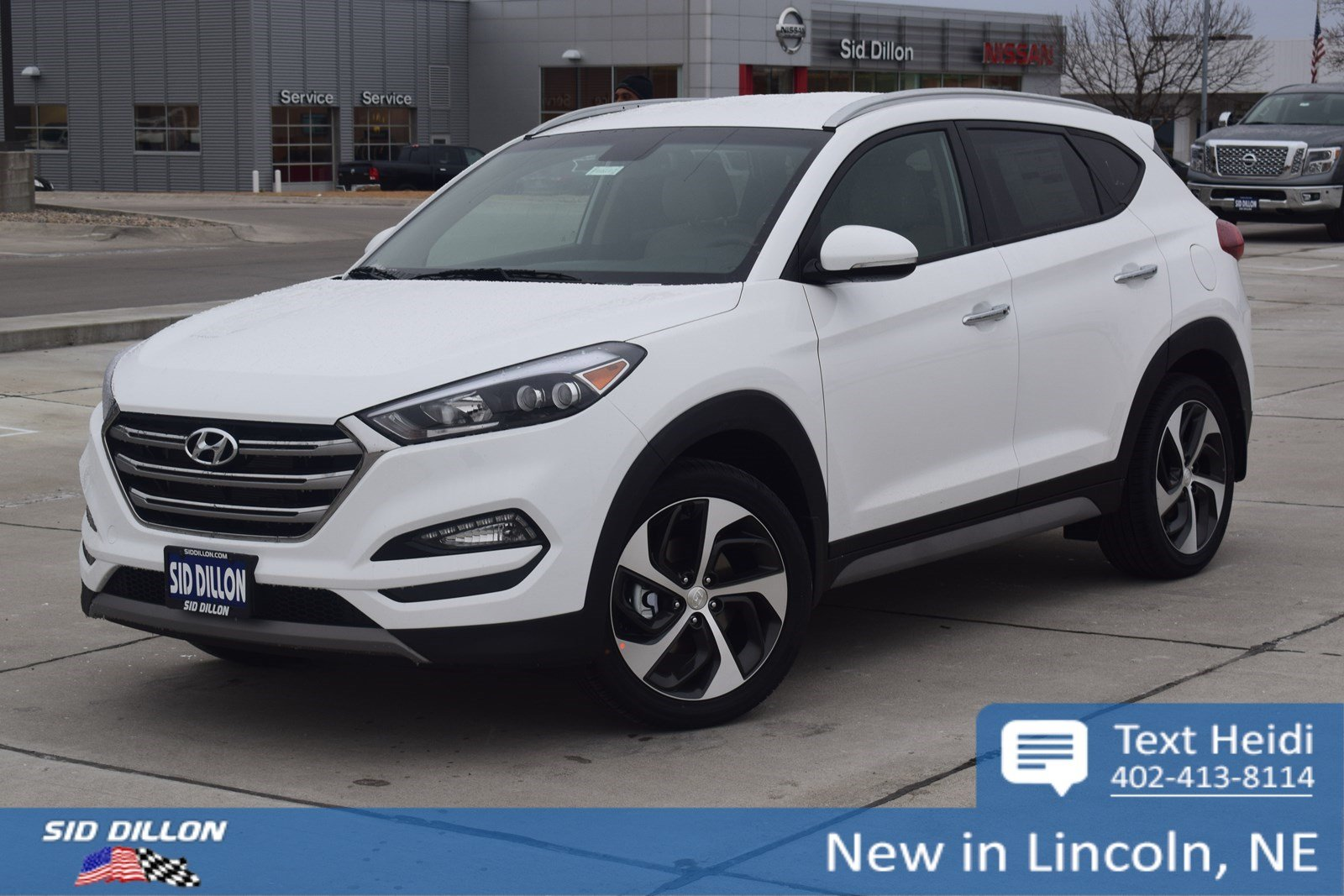 New 2018 Hyundai Tucson Limited Suv In Lincoln 4h18272