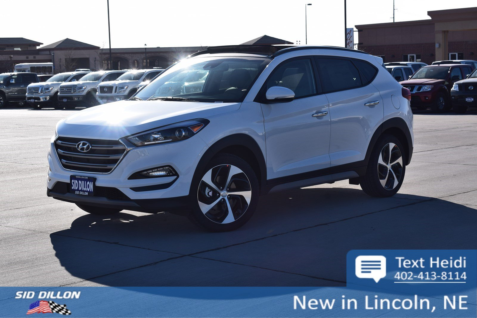 New 2018 Hyundai Tucson Limited Suv In Lincoln 4h18267