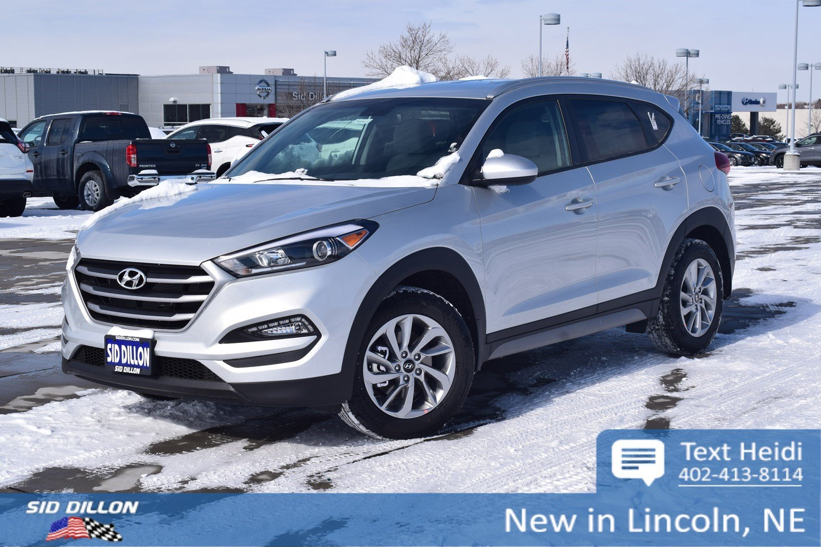 New 2018 Hyundai Tucson Sel Suv In Lincoln 4h18305 Sid