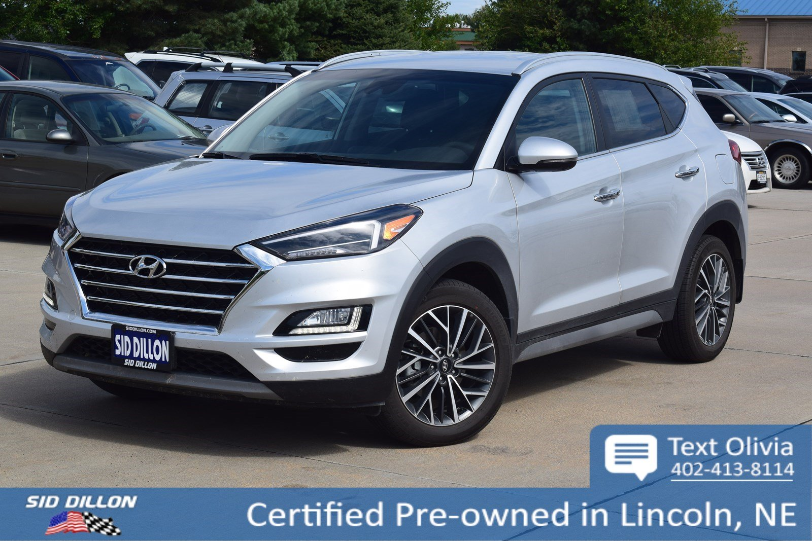 Certified Pre-Owned 2019 Hyundai Tucson Limited