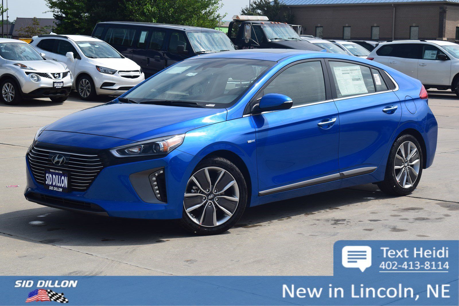 New 2018 Hyundai Ioniq Hybrid Limited