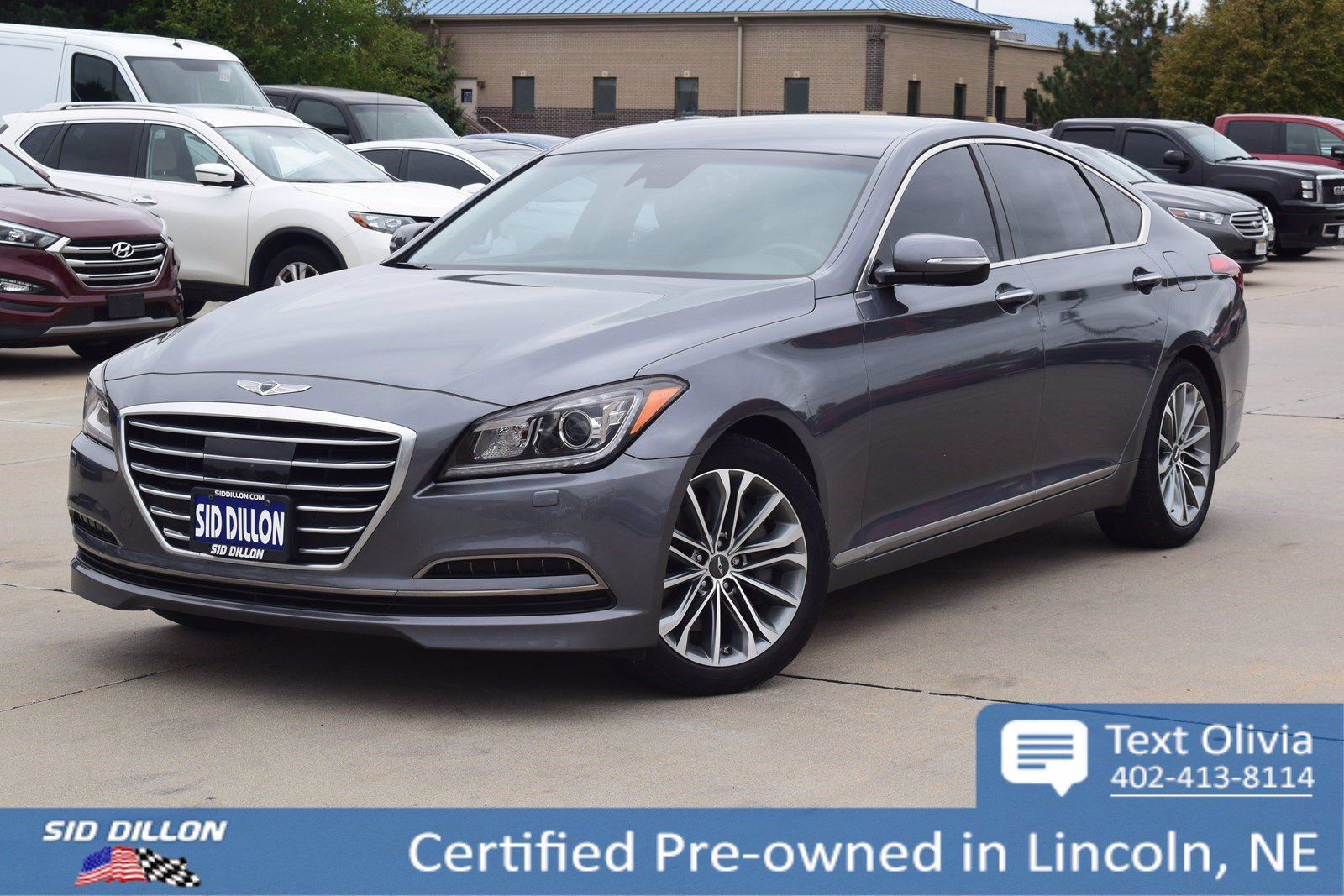 2017 Genesis G80 3.8 >> Certified Pre Owned 2017 Genesis G80 3 8l With Navigation Awd