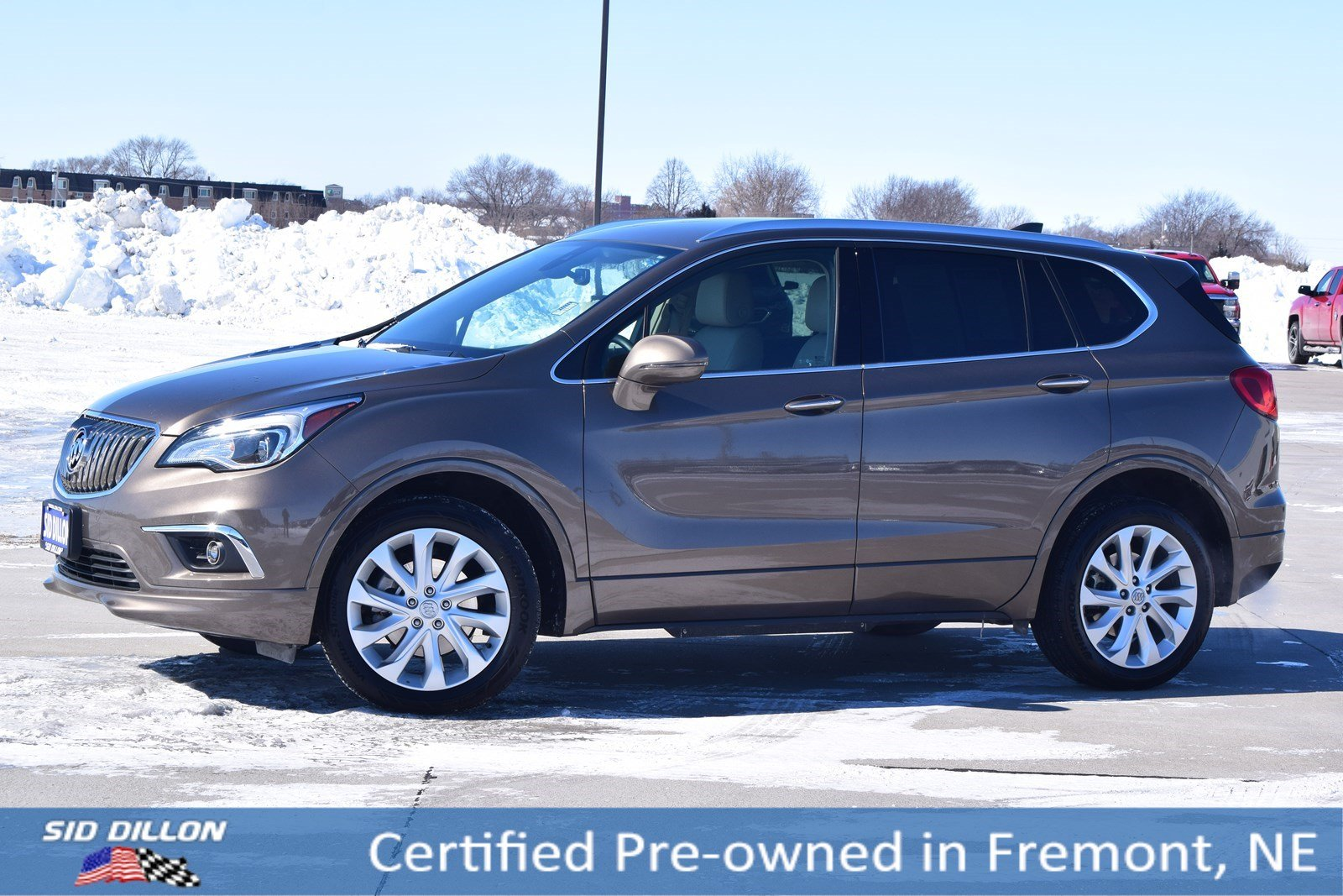 Certified Pre-Owned 2017 Buick Envision Premium I