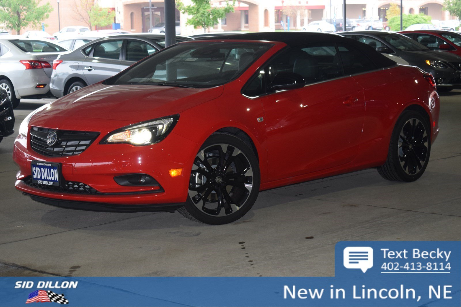 New 2019 Buick Cascada Sport Touring Convertible In Lincoln 4b1957