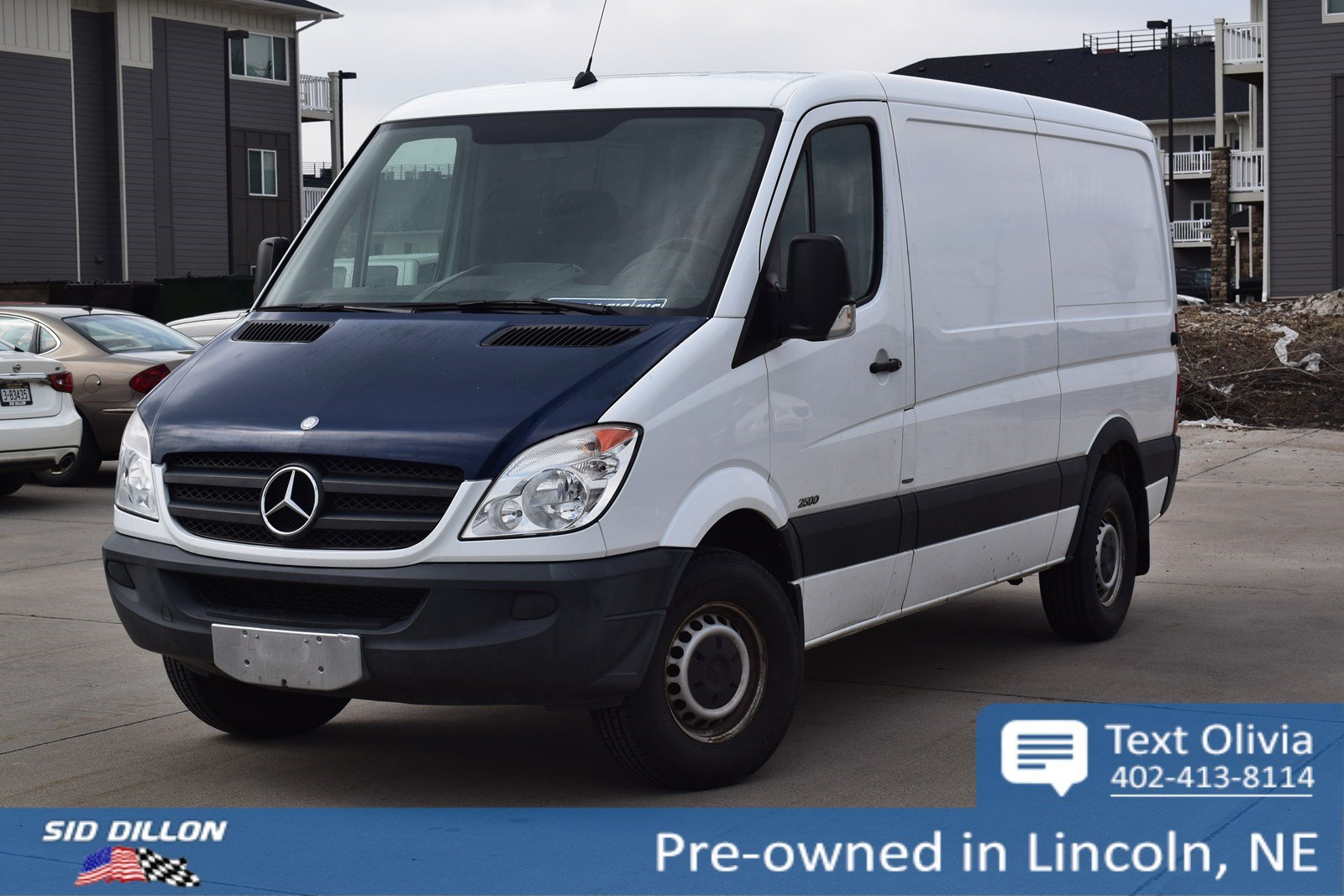 Pre-Owned 2012 Mercedes-Benz Sprinter Cargo Vans 2500 144
