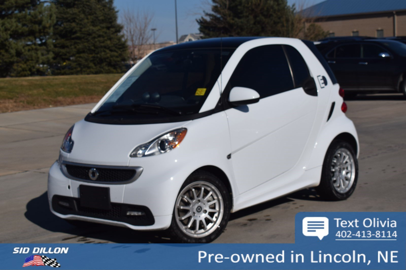 Pre Owned 2017 Smart Fortwo Electric Drive Pion