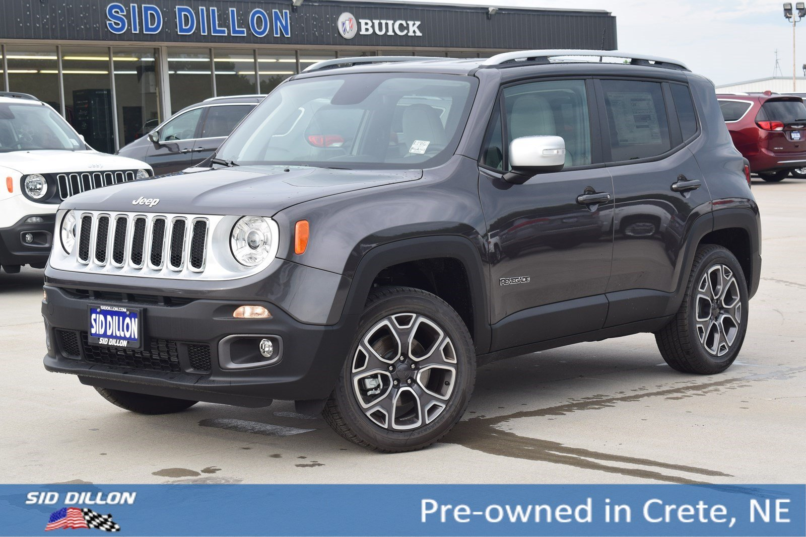 Jeep Renegade Limited >> Pre Owned 2018 Jeep Renegade Limited With Navigation 4wd