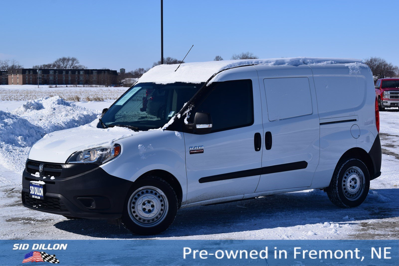 Pre-Owned 2016 Ram ProMaster City Cargo Van Tradesman