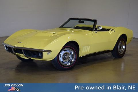 Pre-Owned 1968 Chevrolet Corvette
