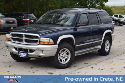 Pre-Owned 2002 Dodge Durango SLT Plus